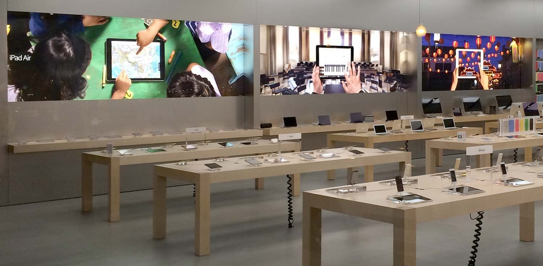Apple-Store banners